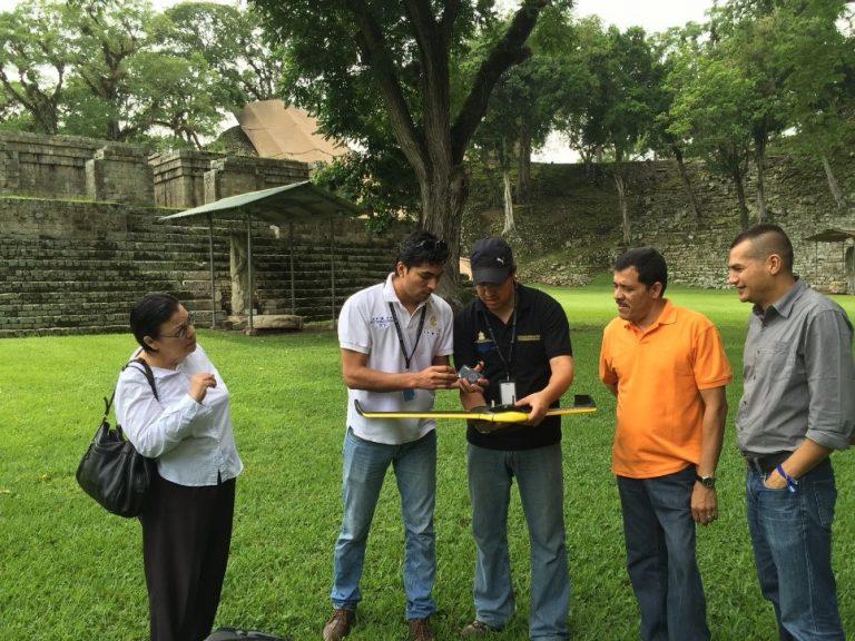 Three Dimensional Modeling of the Central Plaza Copan Ruinas, Honduras (UNAH-IARPACUNA)